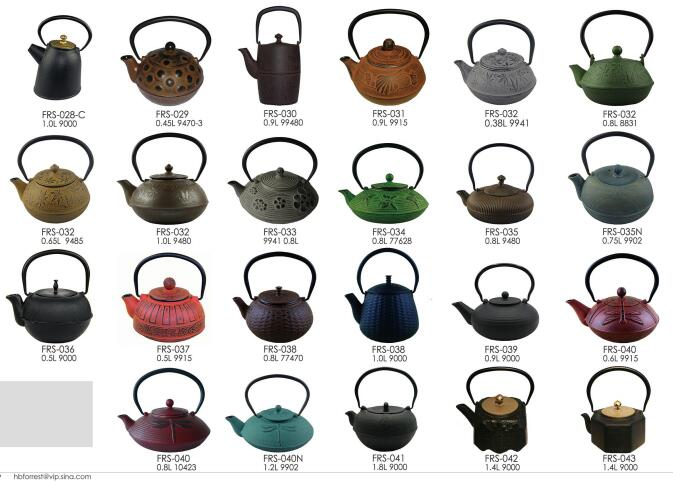 cast iron enamel coated kettle with infuser purple cast iron teapot enamel set